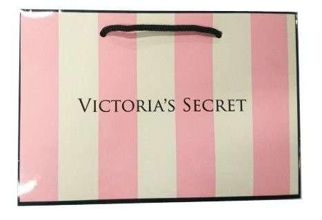 Подарочный пакет Victoria's Secret 22x15cm(M)