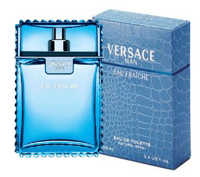 Versace - Туалетная вода Versace Man Eau Fraiche 100 ml.