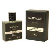 "Тестер Christian Dior ""Sauvage"" edt for men, 50ml ОАЭ"