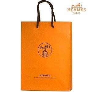 Подарочный пакет Hermes 30x25cm