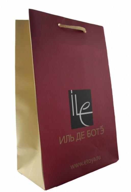 Подарочный пакет Иль Де Боте 15х20см
