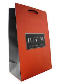 Подарочный пакет ЦУМ 34х25см