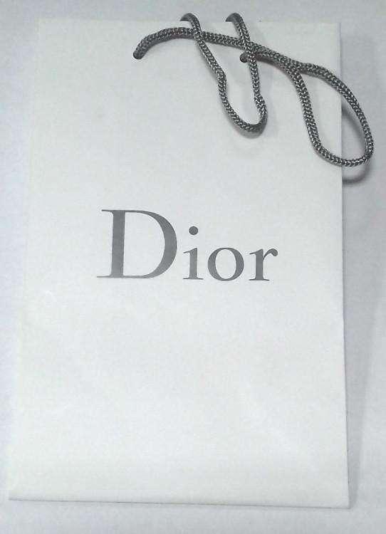 Подарочныйт пакет Dior 15x20cm